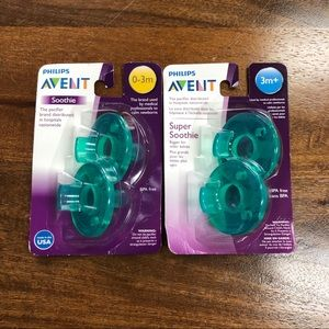 Avent Soothie Pacifier Set